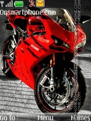 Ducati 1089 theme screenshot