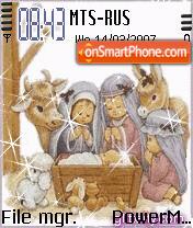 Animated Noel es el tema de pantalla