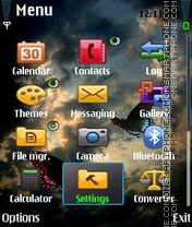 Fire Fox v1 theme screenshot