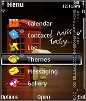 Miss You laxxUS theme screenshot
