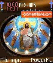 Jesus The Kingcoptic theme screenshot