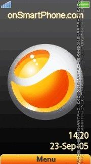 Orange es el tema de pantalla
