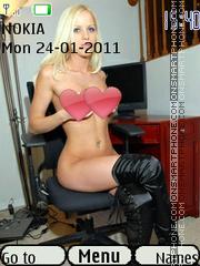 Sexy model46 theme screenshot