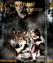 Twilight Breaking Dawn es el tema de pantalla