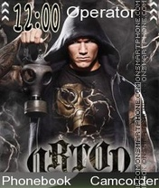 Скриншот темы Randy Orton