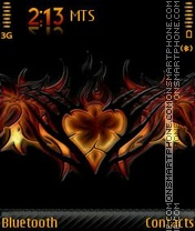 Tribal Heart 2011 theme screenshot