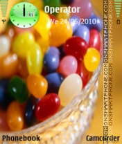 Sweets theme screenshot