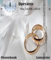 Скриншот темы Wedding