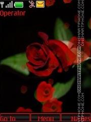 Rose swf theme screenshot