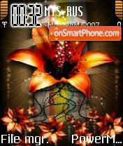 Orangeflower es el tema de pantalla