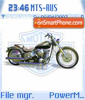 Скриншот темы Harley Davidson