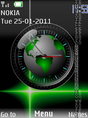World green theme screenshot