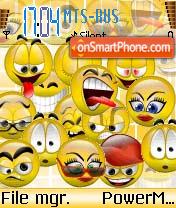 Smiley 4 es el tema de pantalla