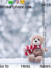 Snowy Teddy tema screenshot