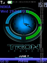 Tron 01 Theme-Screenshot