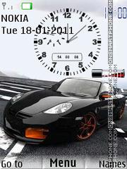 Porsche Clock 01 es el tema de pantalla
