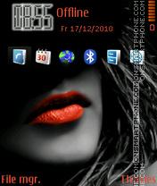 Awesome Lips theme screenshot