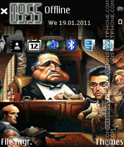 Cartoon Godfather es el tema de pantalla