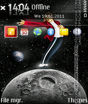 Michael Jackson 24 theme screenshot