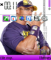 Скриншот темы John Cena 14