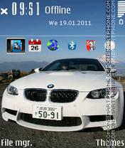 Bmw M3 14 theme screenshot
