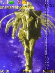 Saint Seiya Lost Canvas Asmita theme screenshot