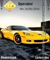 Corvette Style New theme screenshot