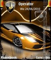 Скриншот темы Lamborghini 2