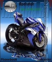 Yamaha R1 2011 theme screenshot