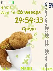Teddy theme screenshot