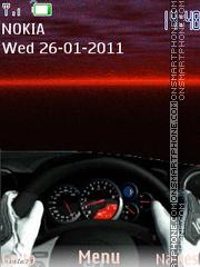 Скриншот темы Ferrari 1