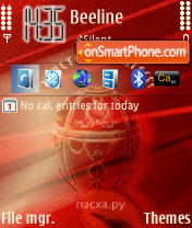 Pasha 2 theme screenshot