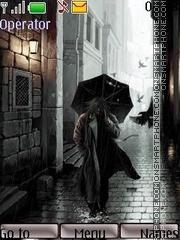 Скриншот темы Rain31