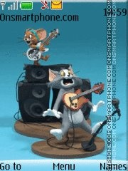 3d Tom And Jerry es el tema de pantalla