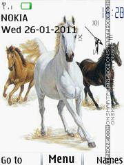 Horse 06 es el tema de pantalla