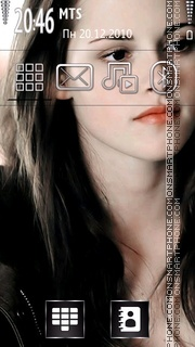 Kristen Stewart 05 theme screenshot