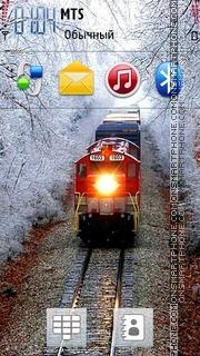 Beautiful Train 01 theme screenshot