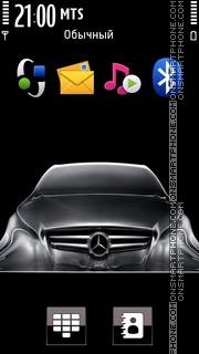 Скриншот темы Mercedes 3255