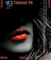 Red Lips Classic V2 theme screenshot
