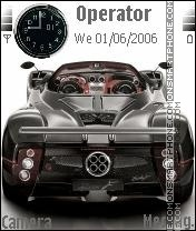 Zonda F Roadster theme screenshot