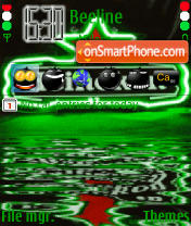 Heineken 9 theme screenshot