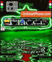 Скриншот темы Heineken 9