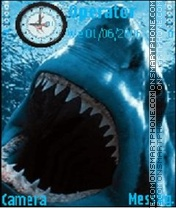 Great White Shark es el tema de pantalla