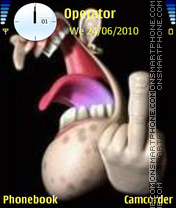 Fooker theme screenshot