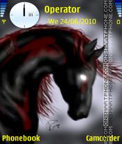 Black Horse theme screenshot
