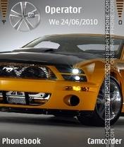 Mustang theme screenshot