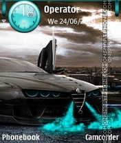 Alfa Romeo theme screenshot