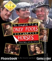 Only Fools And Horses theme screenshot