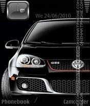 Vw Golf 2011 theme screenshot