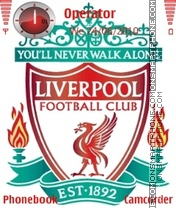 Liverpool FC theme screenshot